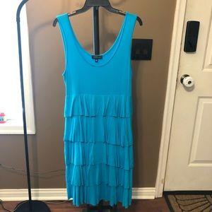 EUC Blue sleeveless dress